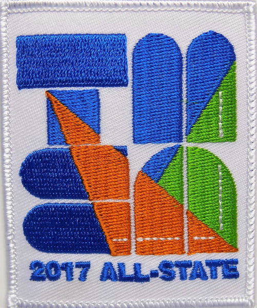 TMEA 2017 All-State Patch