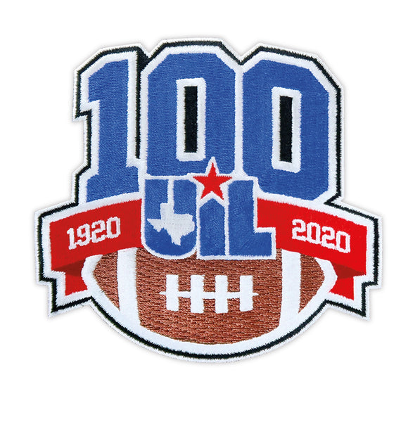 100 Years of UIL Football Patch