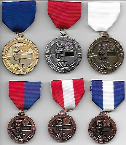 UIL Academic District Medals - Jr. High - Elementary Events