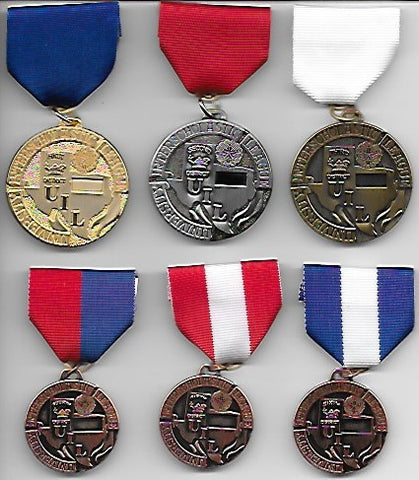UIL Academic District Medals - Events L thru R