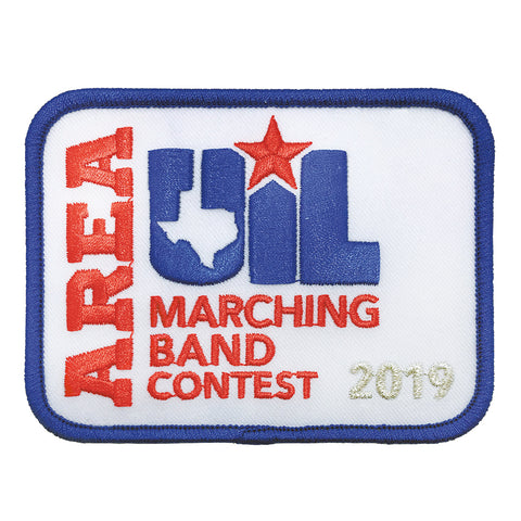 UIL Area Marching Contest Patch