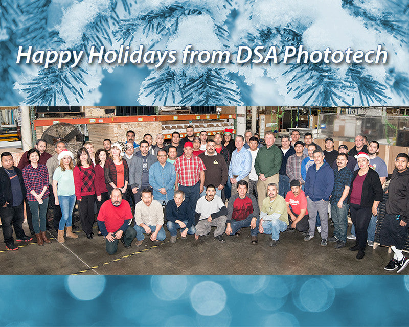 Happy Holidays from DSA Phototech