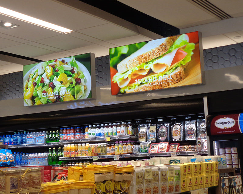LED Light Boxes for Convenience Stores