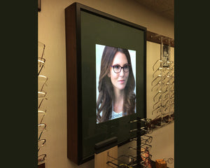 Custom LED Light Boxes at Fuerste Optical