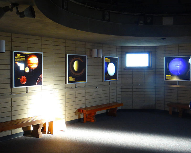 Goldendale Observatory State Park LED Light Box Installation