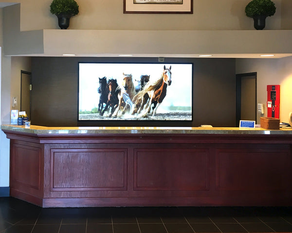 Large Format LED Light Box at Best Western Plus Inn at Horse Heaven