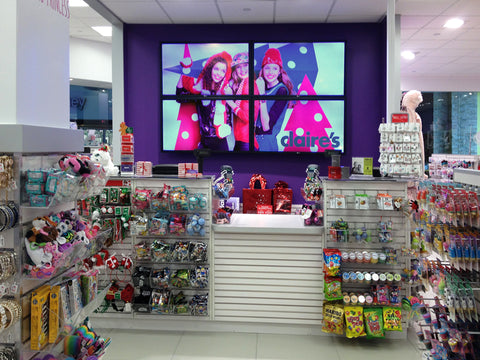 Digital signage in retail store