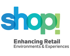 Shop! Association logo
