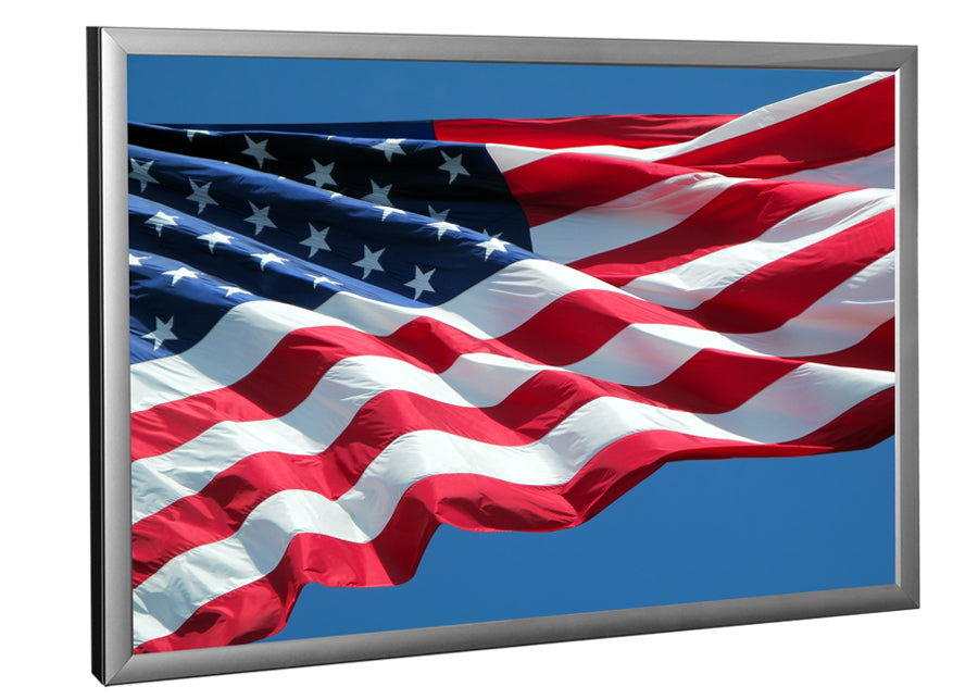 American Flag image in LED Light Box