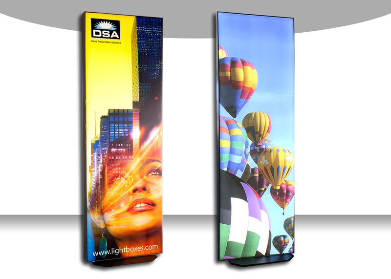 LED Frameless Fabric Light Boxes