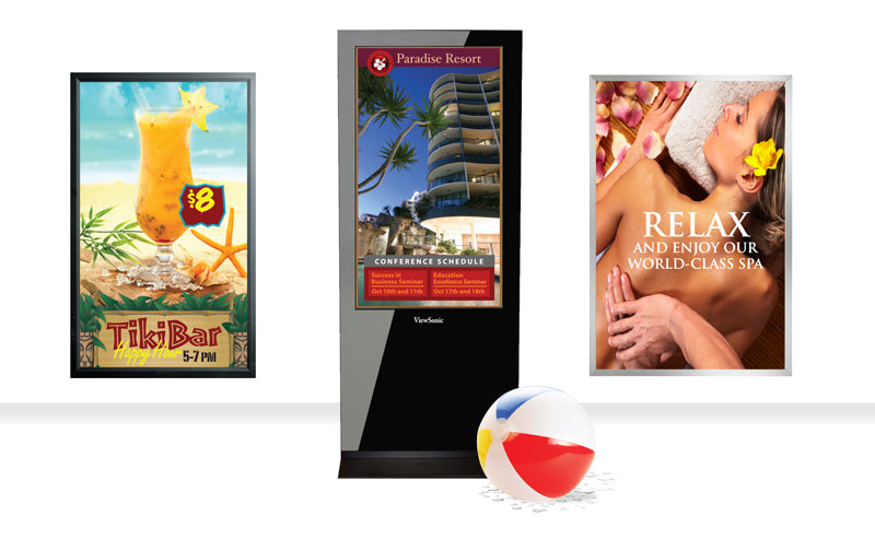 Visual Display Solutions for Casinos and Resorts