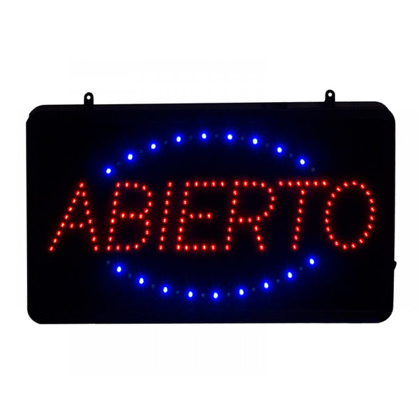 Abierto LED Storefront Sign