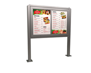 Value LED Two Panel Drive-Thru Menu Board