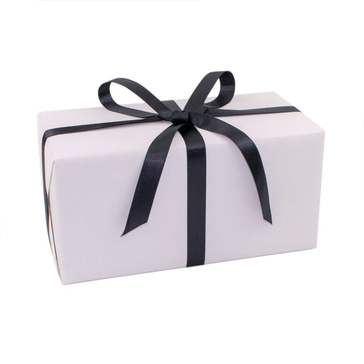 Gift Wrapped Box of Cookies With Gift Card