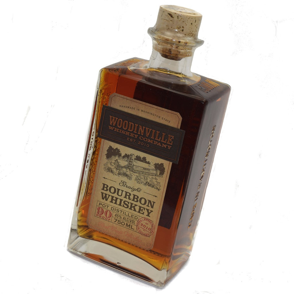 Bottle of Woodinville Whiskey Col. bourbon