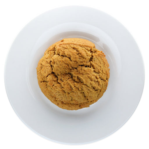 Brown Butter Brown Sugar Bourbon Spice Cookie top view