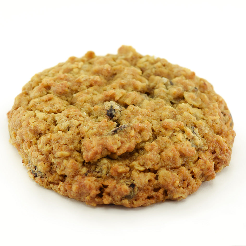 Dark Chocolate Oatmeal Cookie - Side view