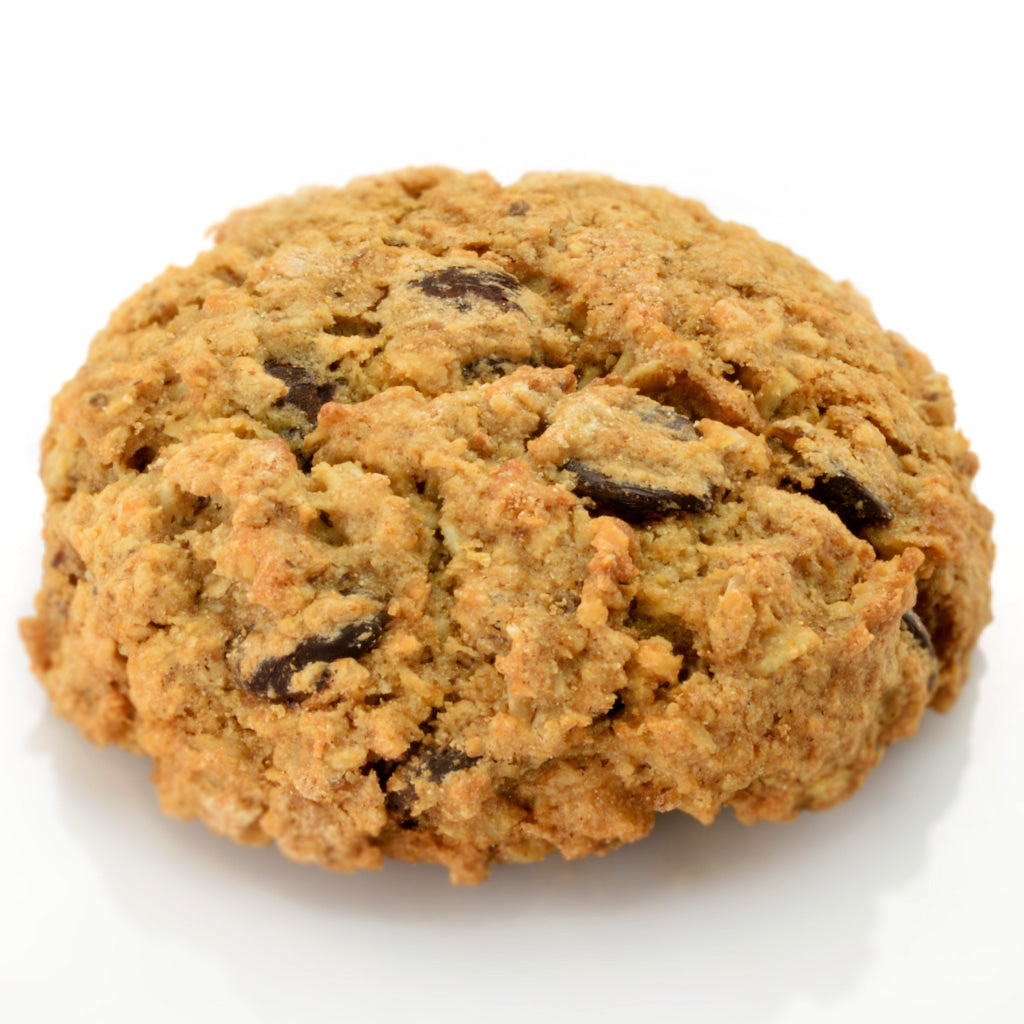 Miracle Dark Chocolate Oatmeal Cookie - Side view