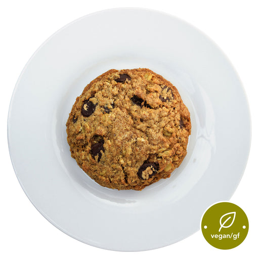 Miracle Dark Chocolate Oatmeal Cookie - Top view