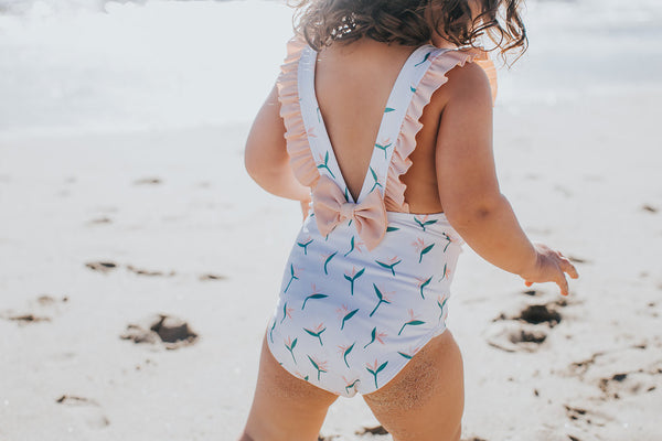 baby girl bathing suit toddler swimsuit kid swimsuit olivia and ocean