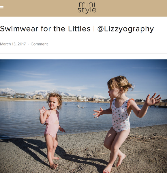 mini style blog swimsuits swimwear olivia and ocean baby girl baby boy toddler boy made in los angeles