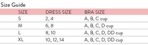 olivia and ocean mom swimsuit size chart