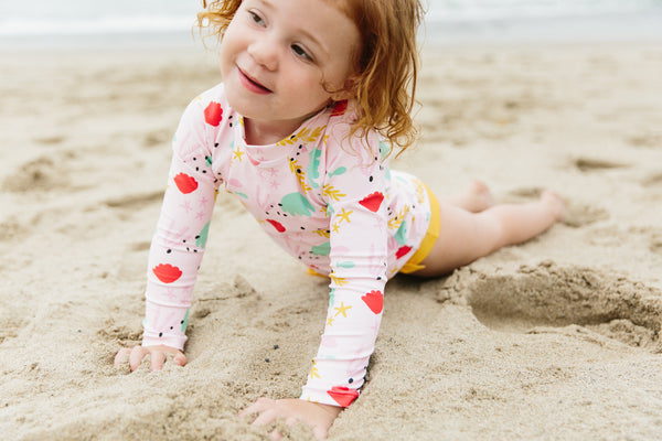 baby boy bakery Olivia and ocean swimsuit collab collection Collection mommy and me swimsuits