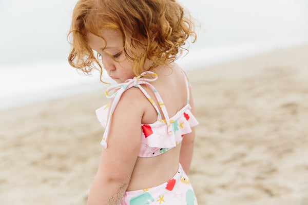 baby boy bakery Olivia and ocean swimsuit collab collection collaboration mommy and me matching