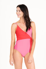 Mom Bod One Piece Sugar & Cloth Color Block