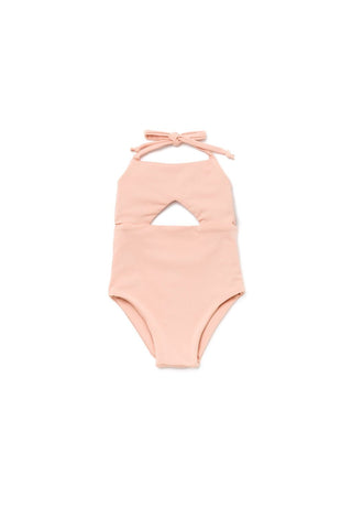 Girl's Malibu One Piece Blush