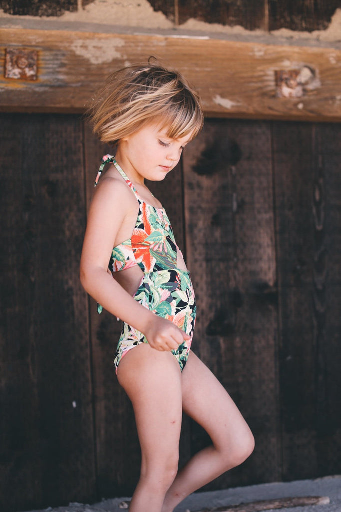 little minis olivia and ocean collab swimsuit bathing suit one piece dresses