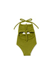 Girl's Malibu One Piece Avocado - Olivia + Ocean