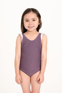 Laguna One Piece Toasted Mauve - Olivia + Ocean