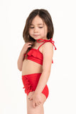 Beverly Bikini Ruby Red - Olivia + Ocean