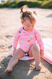 Hermosa Rash Guard Sugar & Cloth Confetti - Olivia + Ocean