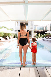 BOTTOM - Lady Bird Bikini Onyx - Olivia + Ocean