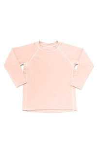 Hermosa Rash Guard Blush - Olivia + Ocean