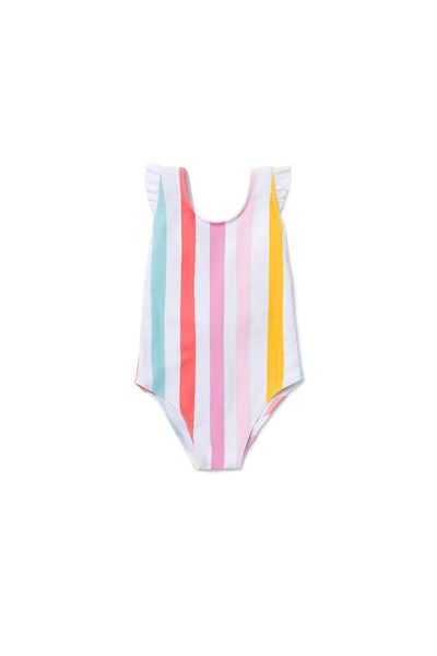 Girl's Laguna One Piece Rainbow - Olivia + Ocean