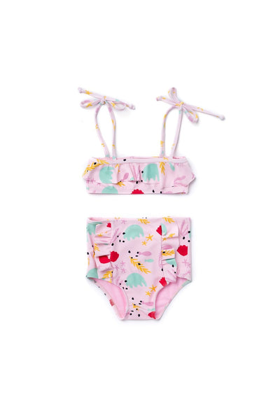 Girl's Beverly Bikini Under The Sea - Olivia + Ocean