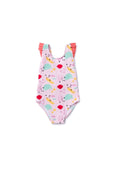 Girl's Laguna One Piece Under The Sea - Olivia + Ocean