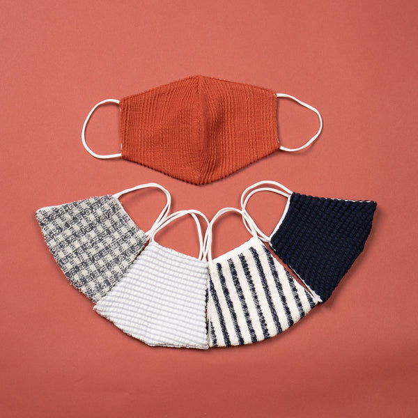 Reusable Cloth Face Mask, Made in USA, 5-Pack