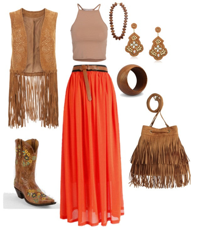 5 Way to get the Boho Look