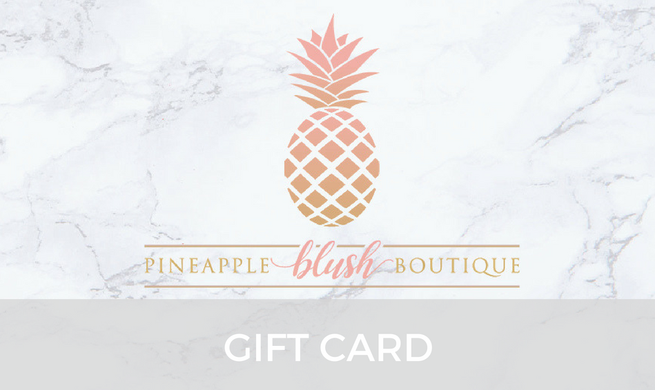 Pineapple Blush Gift Card