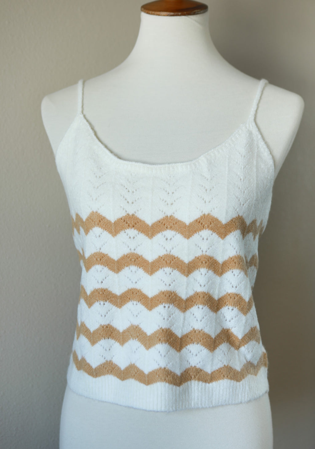 Tropical Winter Sweater Tank