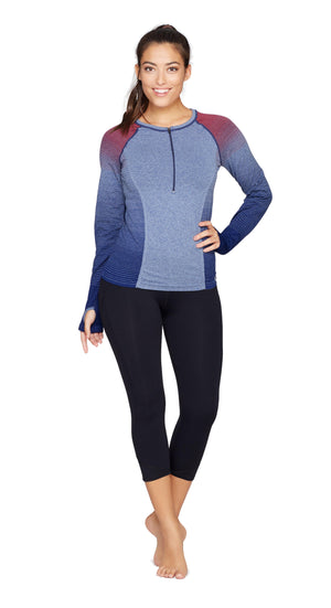 Quadrant Seamless Long Sleeve