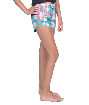 Girls Tie Dye Simone Short