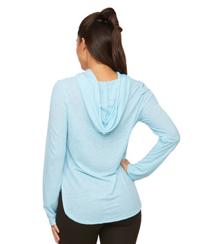 Cora Long Sleeve Hooded Tee