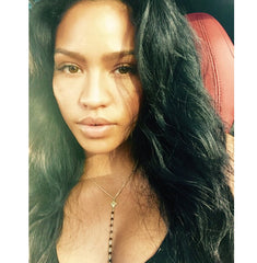 Cassie wearing AMRIT Make Love body chain