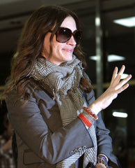 Julia Roberts wearing amrit jewelry bracelets