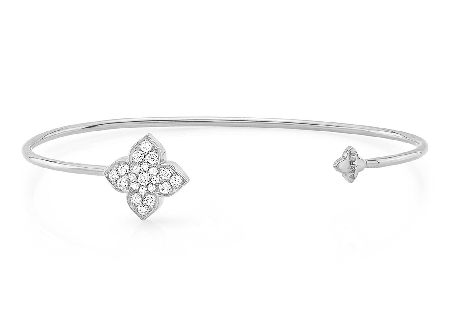 MAKE LOVE LOTUS DIAMOND CUFF - AMRIT Jewelry